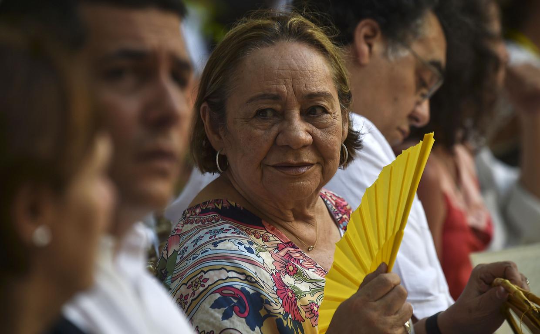 Mercedes Barcha Pardo, in 2016. Beeld AFP