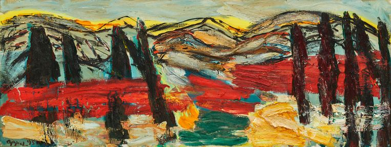 Horizon of Tuscany no. 19, 1995 Beeld © Karel Appel Foundation, c/o Pictoright Amsterdam, 2021