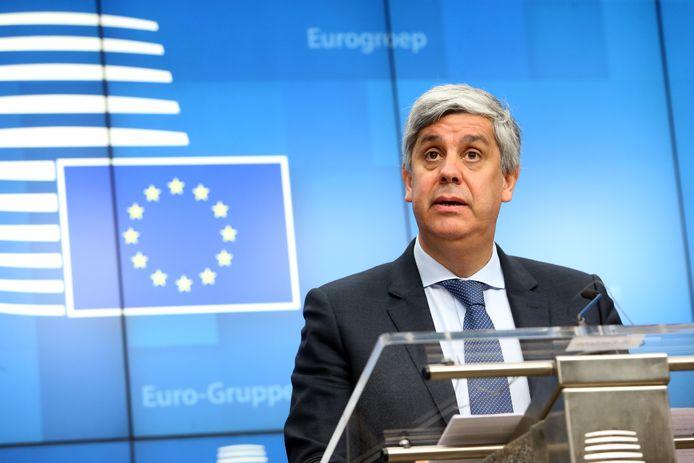 Mario Centeno, président de l'Eurogroupe
