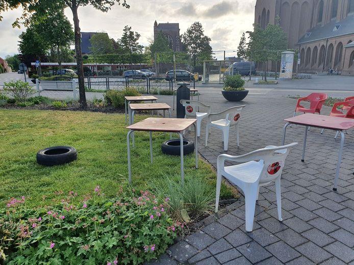 Ondanks het verbod op Poortje Pik in Rijkevorsel werden er vorig jaar toch enkele spullen verzameld.