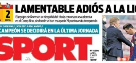 Spaanse media keihard voor Koeman: 'Voor 99 procent zeker dat hij wordt ontslagen'