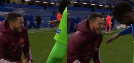"""Eden Hazard s'excuse auprès des supporters du Real pour son attitude à la fin du match: """"Je suis désolé"""""""