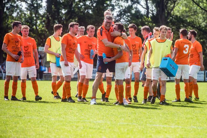 Het duel van Moerse Boys voor de finale van de nacompetitie gaat niet in Ermelo gespeeld worden.