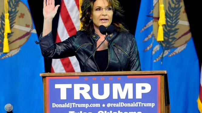 """Sarah Palin: """"Huiselijk geweld van mijn zoon is schuld van Obama"""""""