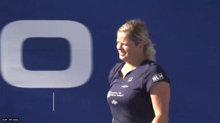 Kim Clijsters op de World Team Tennis Beeld rv