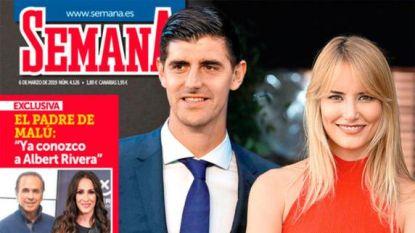 Thibaut Courtois op date met ex-vrouw van Spaanse tennisser