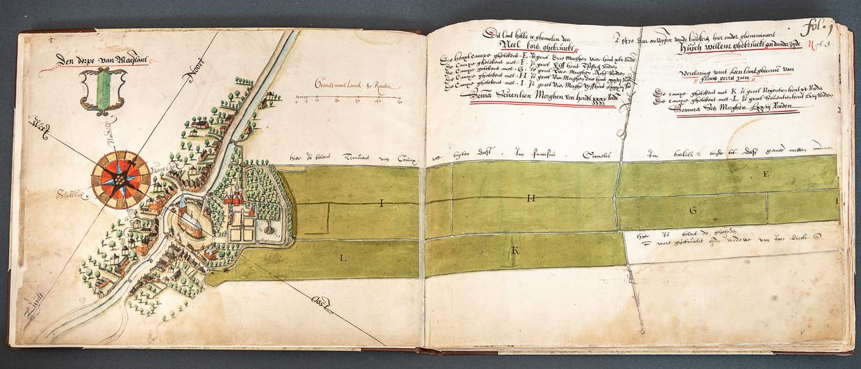 Tot de 'oudste' gronden van de Duitsche Orde behoren in ieder geval kavels in het Zuid-Hollandse Maasland. Beeld Harry Cock / de Volkskrant