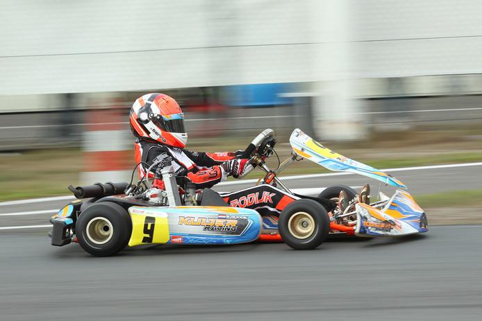 Senna Rodijk snelle meid in de Nederlandse kartsport