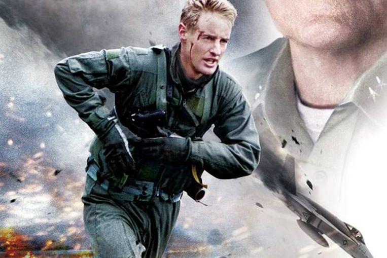 Owen Wilson in 'Behind Enemy Lines'. Beeld rv