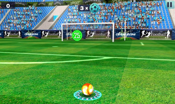 3D Free Kick is het online vrijetrapspel dat te spelen is op onze website.