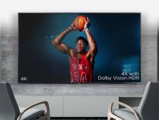 Gigantische 4K-televisie voor een prikkie