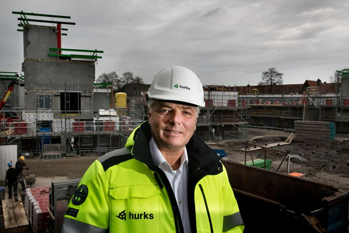 Jeroen de Bekker toen hij nog algemeen directeur was bij Hurks.