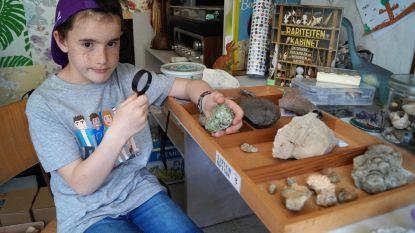 Cyr (9) showt je zijn mooiste stenen