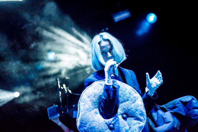 Róisín Murphy, auteur van de grandioze discoshow op Cactusfestival Beeld Stefaan Temmerman