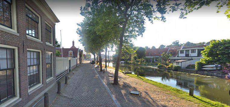 De Schepenmakersdijk in Edam. Beeld Google Streetview.