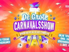 Opbrengst grote online carnavalsshow gaat naar uitjes voor zorgmedewerkers