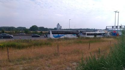 Bus knalt op vrachtwagen op E40 in Zwijnaarde richting Brussel: geen gewonden, wel file