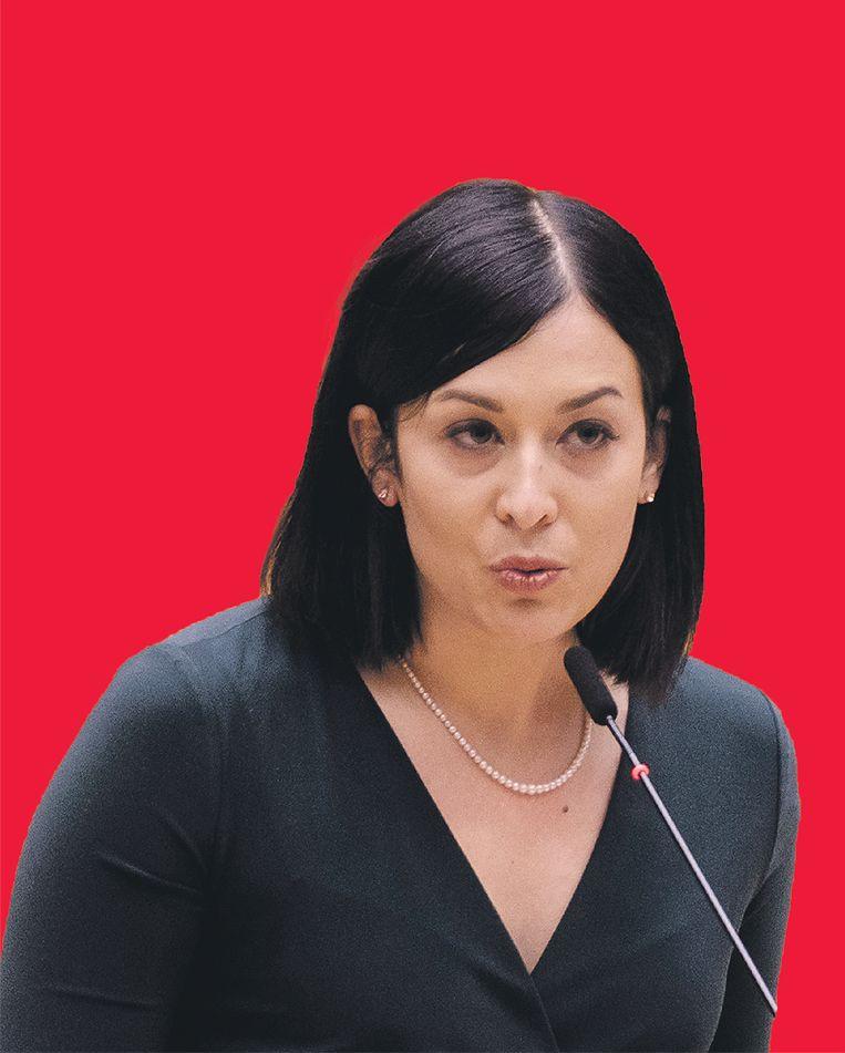 De Hongaarse Katalin Cseh is in het Europees Parlement lid van de liberale fractie Renew. Beeld Getty Images