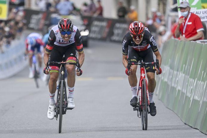 Rui Costa en Andreas Lorentz Kron.