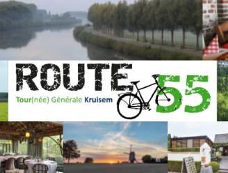 Route55 Tour(née) Générale Kruisem leidt fietsers langs 40 horeca-zaken in Kruisem