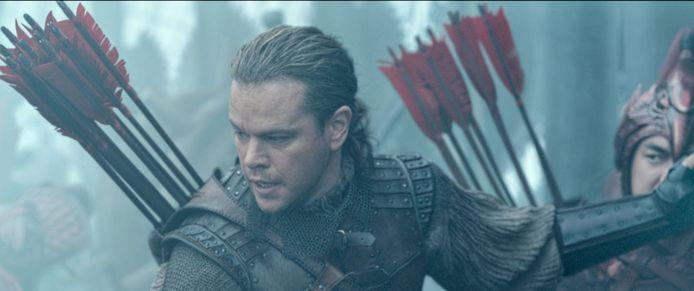 "Matt Damon dans ""The Great Wall""."