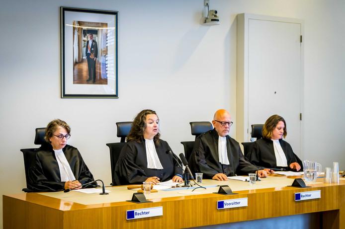 De rechtbank van Utrecht voorafgaand aan de uitspraak in de zaak rondom de moord op de veertienjarige Savannah.