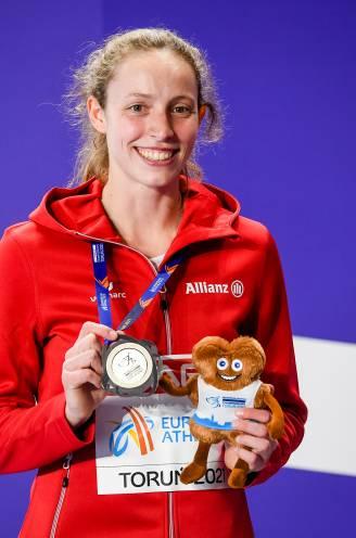 PORTRET. Wie is Noor Vidts, de 24-jarige Vilvoordse die België unieke dubbelslag bezorgde op EK indoor?