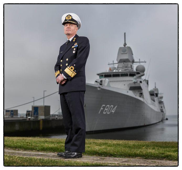 Admiraal Rob Kramer hoopt eindelijk zijn verouderde vloot eens goed onder handen te kunnen nemen.