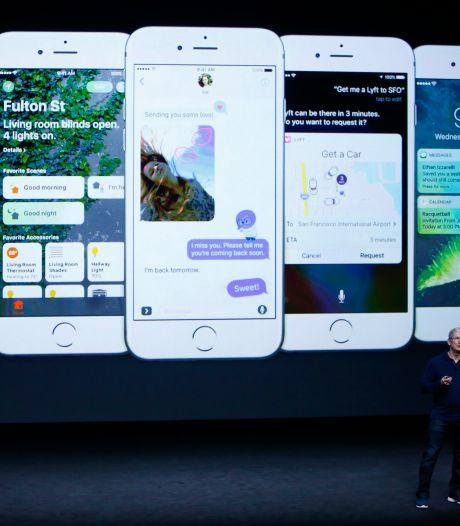 'Bestellingen voor iPhone 7 lopen hard'