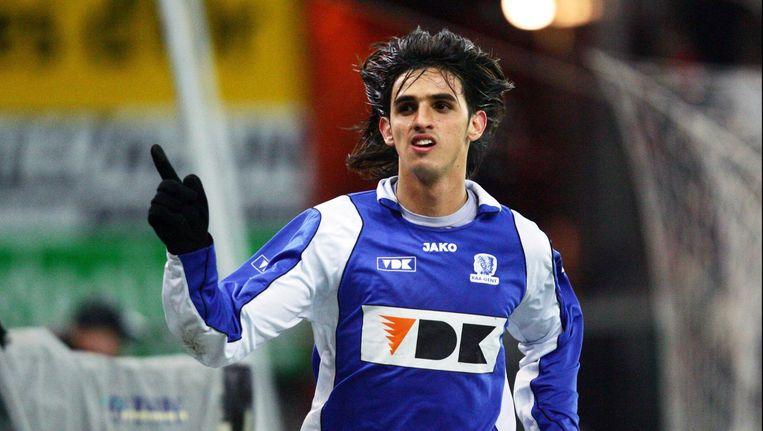 Bryan Ruiz maakte furore in de aanval van AA Gent, toen nog in het Ottenstadion. Trekt de Costa Ricaan nu naar Standard? Beeld photo_news