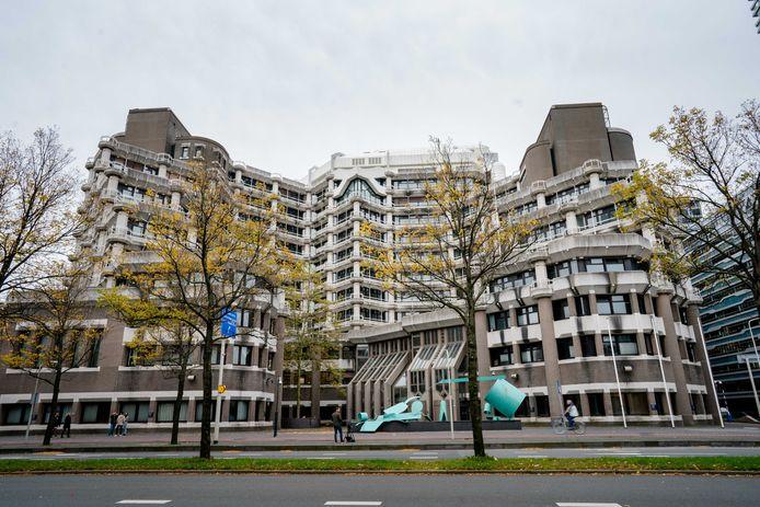 Het voormalige ministerie van Buitenlandse Zaken aan de Bezuidenhoutseweg waar de Tweede Kamer vanaf de zomer van 2021 wordt gehuisvest.