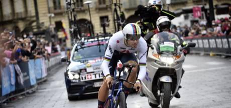 Favoriet Ganna maakt status waar en wint tijdrit Giro