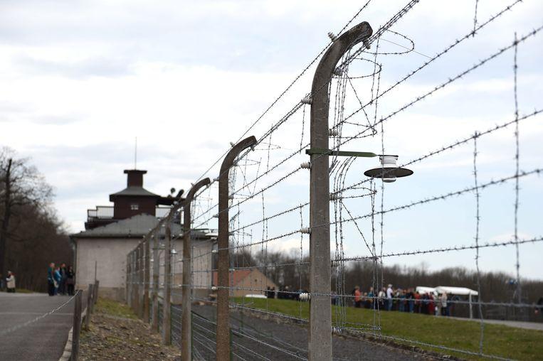 Concentratiekamp Buchenwald, nabij Weimar.  Beeld EPA