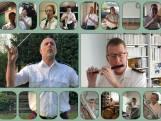 130 militaire muzikanten spelen samen vanuit huis
