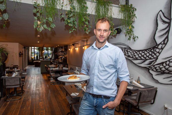Chefkok en eigenaar Alexander Kooman.