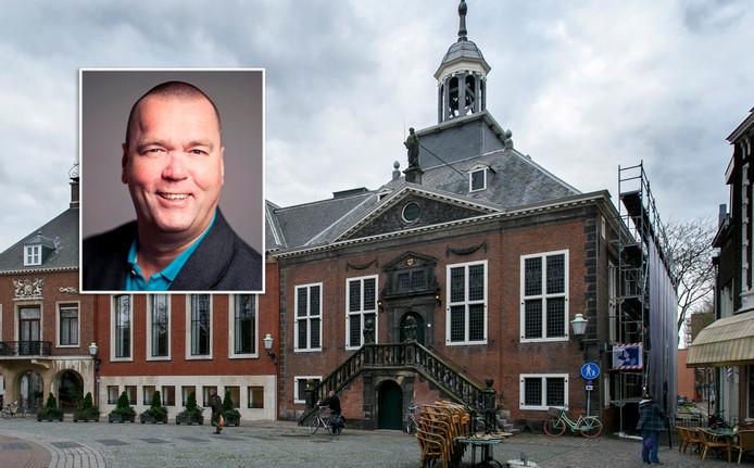 Voormalig raadslid Arne van der Zande heeft voor het incident een voorwaardelijke boete van 300 euro opgelegd gekregen.
