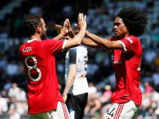 Birmingham City-huurling Tahith Chong scoort voor Manchester United