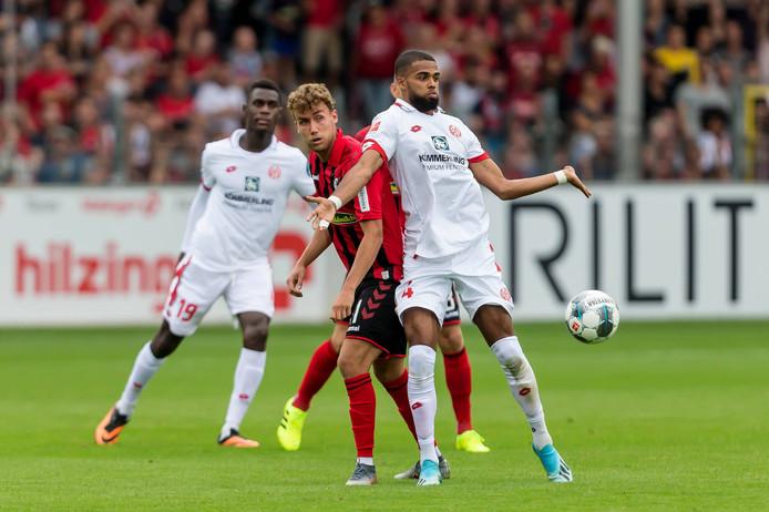 Jeremiah St. Juste bij zijn debuut voor FSV Mainz 05.