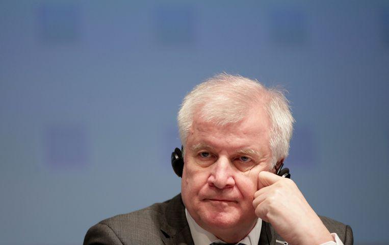 De Duitse binnenlandminister Horst Seehofer.