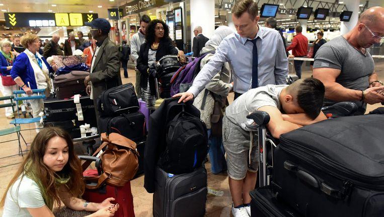 144 vluchten van en naar Brussels Airport werden afgelast. Beeld PHOTO_NEWS