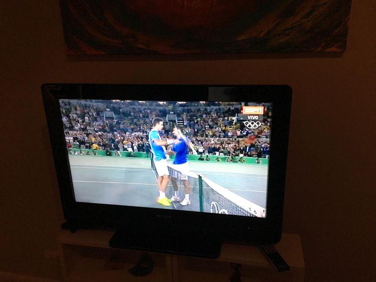 Still van de Argentijnse tv. Beeld Lennart Bloemhof