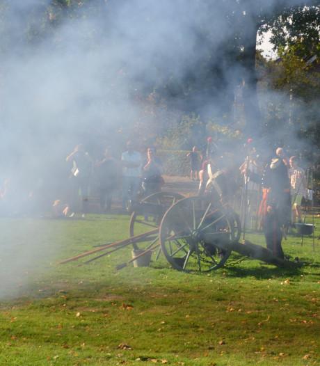 Reek gaat 200 jaar terug in de tijd: kanon in stelling gebracht tegen Napoleon