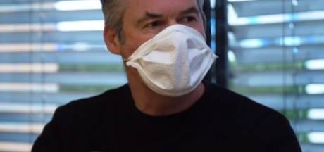 Maak in tien minuten je eigen mondmasker, met hulp van Hengeloos bedrijf