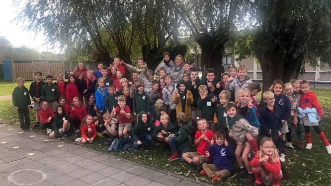 Basisschool De Regenboog viert Dag van de jeugdbeweging