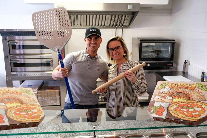 Gianni en Michelle openen vrijdag Da Luigi's op de Heideplaats in Niel, een nieuwe trekpleister voor pizzafans.