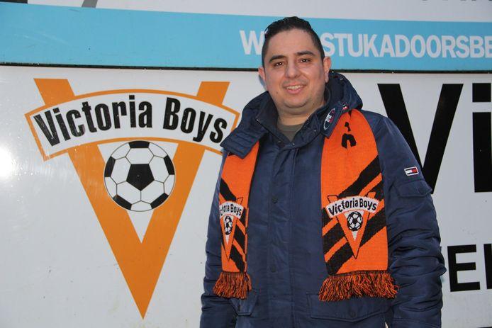 Victoria Boys-trainer Daniël Branco de Sousa.