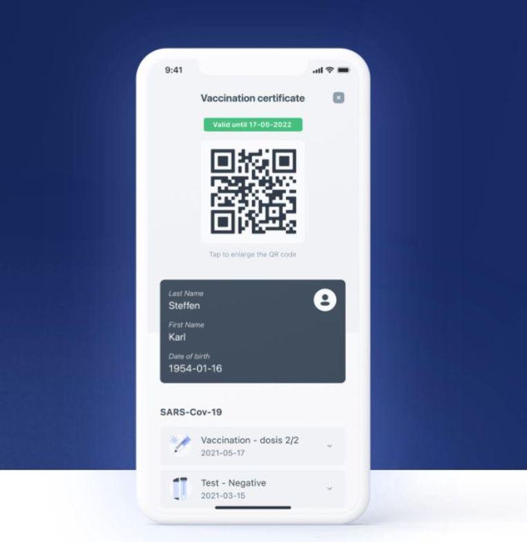Een afbeelding van de officiële CovidSafe-app, die je vanaf vandaag kunt downloaden. Beeld rv