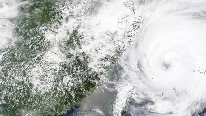 China zet zich opnieuw schrap voor tyfoon In-Fa