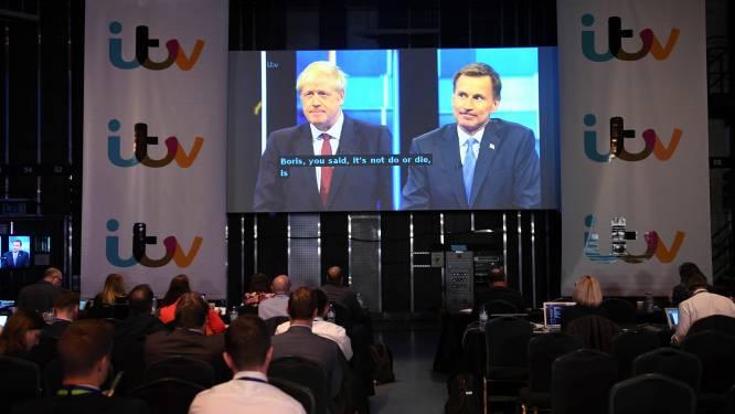 """""""Boris in Downing Street is enige dat telt"""": gespannen debat tussen Hunt en Johnson om Brits premierschap"""