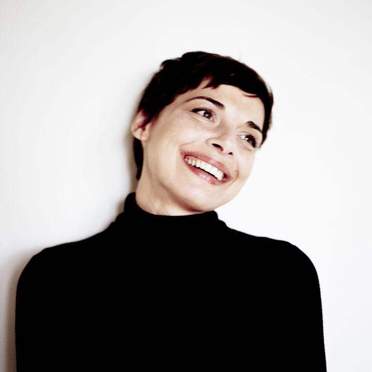 Melanie De Biasio. Beeld RV Frank Loriou